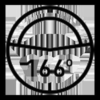 166° FOV