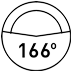 166°FOV