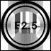 f/2.5Aperture