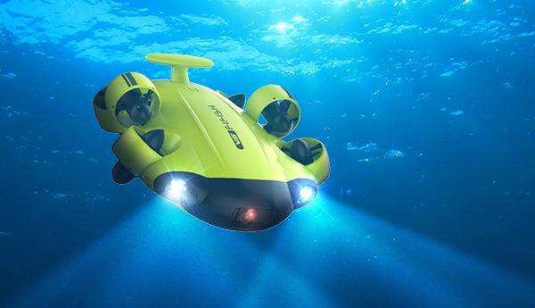 World's First 4K Omni-directional Consumer Underwater Drone - 2018 ...