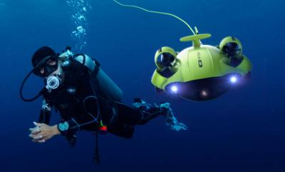 FIFISH V6 Underwater Drone: Complete Freedom of Movement