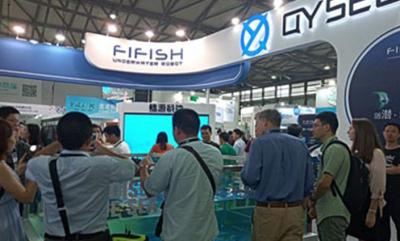 QYSEA Announced FIFISH P3 Underwater Drone Starts Shipment on CES Asia 2018